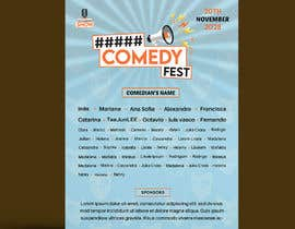 #18 para Poster for a Stand-Up Comedy Festival por emtiaznasim24