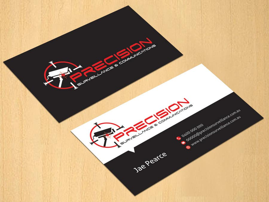 Contest Entry #33 for Design some Business Cards for CCTV installing company
