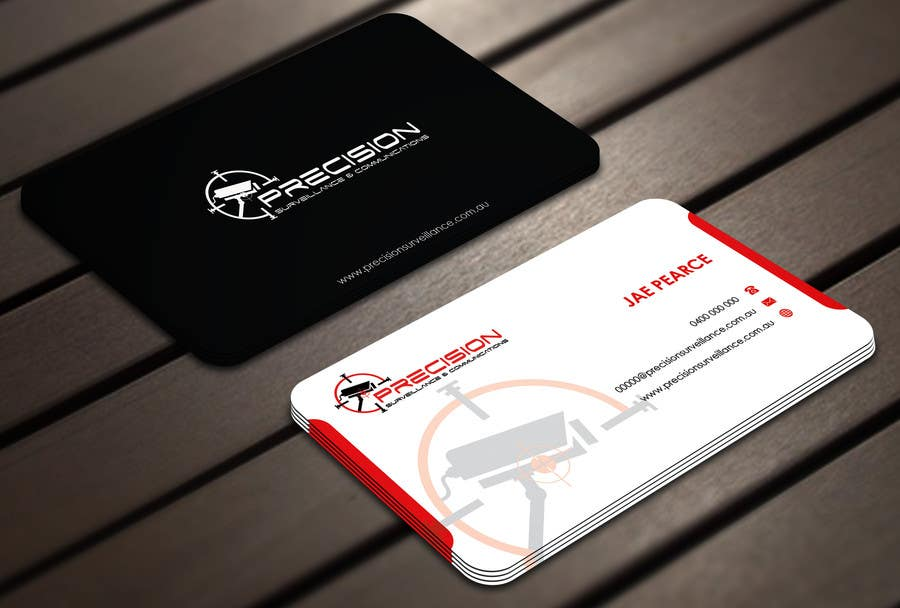 Contest Entry #9 for Design some Business Cards for CCTV installing company