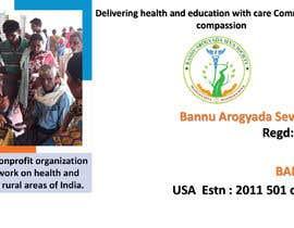 Nro 13 kilpailuun Bannu Arogyada Seva Society - PPT käyttäjältä lazarplanjanin