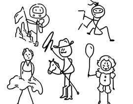 #8 for stick figure character art af hassanslama1