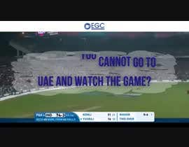 bathiyafi tarafından Build a promo video for India vs Pak world cup t20 live telecast event for our club için no 5