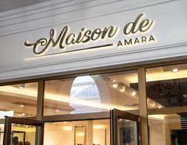 Nro 93 kilpailuun Design a logo - Maison de Amara käyttäjältä digitalmart9