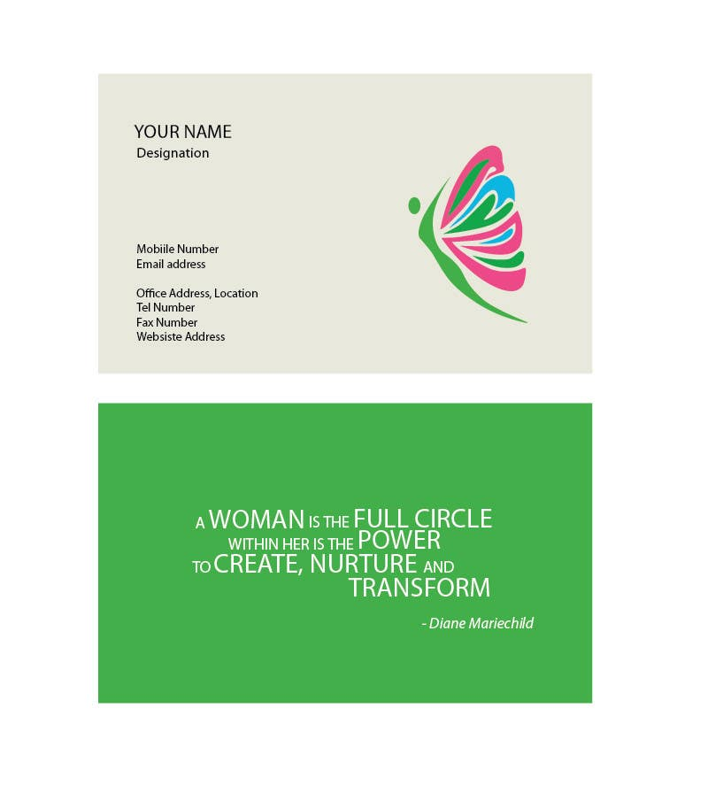 Contest Entry #                                        51                                      for                                         Design a Business Card for a coach/trainer