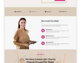 #58 for Website MOCK for a charity organization af BeeDock