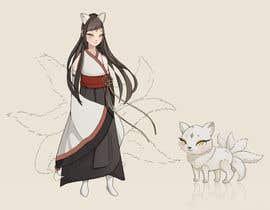 #25 cho Design A Kitsune Character bởi Nilus16