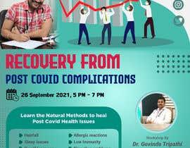 Nro 22 kilpailuun Creative for a Workshop on Curing Post Covid Health Issues käyttäjältä akibbepari