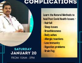 Nro 4 kilpailuun Creative for a Workshop on Curing Post Covid Health Issues käyttäjältä tannu3407