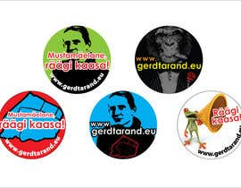 #24 untuk 5 Button Badge designs for a Personal/Political Blog oleh meichuen