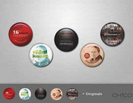 #14 for 5 Button Badge designs for a Personal/Political Blog af chico6921