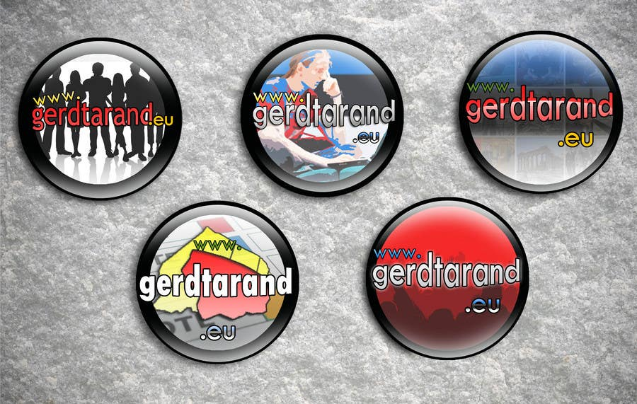 Contest Entry #                                        25                                      for                                         5 Button Badge designs for a Personal/Political Blog