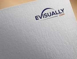 #73 untuk Logo for evisually oleh yrstudio