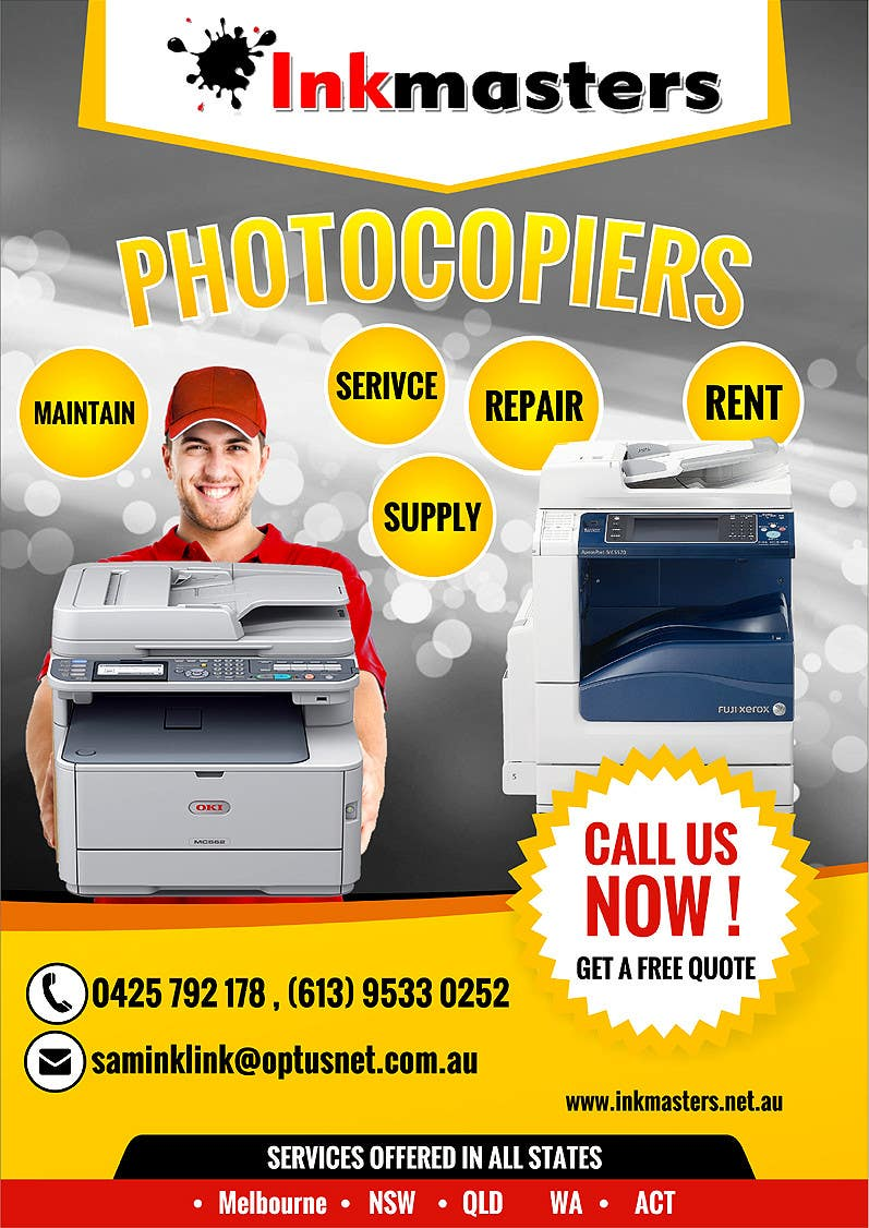 Konkurrenceindlæg #                                        32                                      for                                         Design a Flyer for Photocopier Rentals