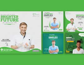 #55 untuk I need PSD templates for Facebook and Instagram for dental clinic posts oleh Nasim2022