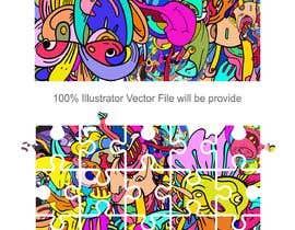 Nro 66 kilpailuun Design a modern abstract illustration for a puzzle käyttäjältä abdsigns
