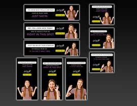#69 for 9 banner ads with simple messaging by abid4design