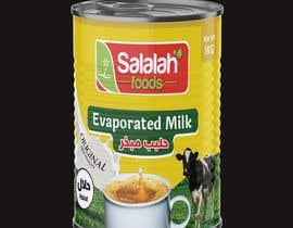 Nro 45 kilpailuun Packaging design for Evaporated Milk käyttäjältä shiblee10