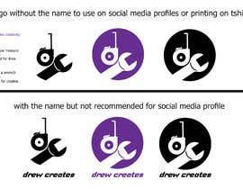#385 for DrewCreates Logo af ahmedgeetar