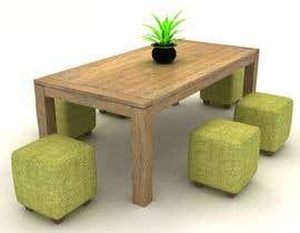 Nro 59 kilpailuun Furniture designs käyttäjältä zibstudio2046