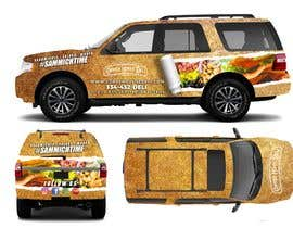 #64 for Concept Vehicle wrap (think food truck) by freeland972