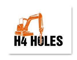 nº 285 pour H 4 Holes Logo Design par KleanArt