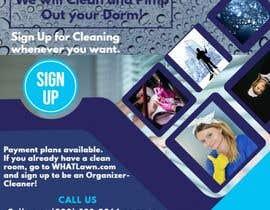 BeeDock tarafından Design Dorm Cleaning Flier için no 57