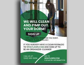 Hasan9568 tarafından Design Dorm Cleaning Flier için no 47