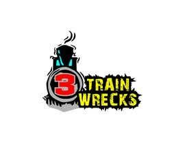 #30 for 3TrainWrecks Podcast Logo by Foley59