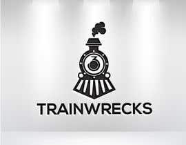 #113 for 3TrainWrecks Podcast Logo by mahonuddin512