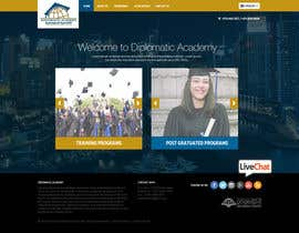 nikil02an tarafından Design a Website Layout for Training company için no 39