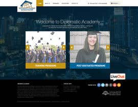 nikil02an tarafından Design a Website Layout for Training company için no 42
