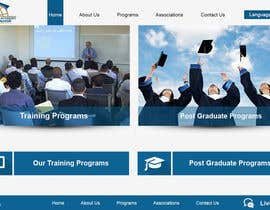webgraphics007 tarafından Design a Website Layout for Training company için no 3