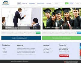 webmastersud tarafından Design a Website Layout for Training company için no 6
