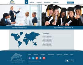 Xatex92 tarafından Design a Website Layout for Training company için no 17