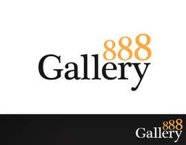 #19 for Design a Logo for Gallery 888 by fuzzica