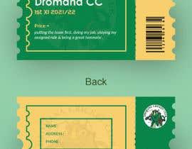 Nro 200 kilpailuun Business Card Design - Cricket Club käyttäjältä abdulhalimnuman7