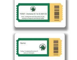 Nro 257 kilpailuun Business Card Design - Cricket Club käyttäjältä Nurnnabi65