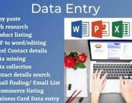 #39 for Data entry . writing - 25/09/2021 04:13 EDT by shafinurrhaman20
