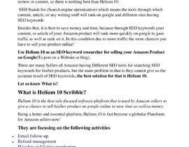 nº 21 pour 10 Helium 10 informational blog posts - new content, not scrapping. Infographics are welcome. par farhankha4548