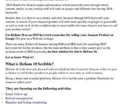 nº 26 pour 10 Helium 10 informational blog posts - new content, not scrapping. Infographics are welcome. par farhankha4548