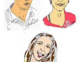 #34 untuk Family illustration/cartoon for shirt oleh kolovrat507