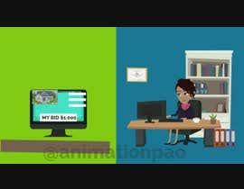 Nro 5 kilpailuun short cartoon video animation käyttäjältä animationpao