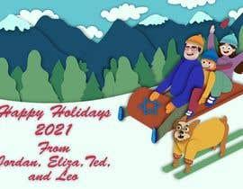 Nro 38 kilpailuun Family Holiday Card Drawing käyttäjältä Shreyam1995