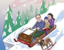 Nro 25 kilpailuun Family Holiday Card Drawing käyttäjältä Denisdean
