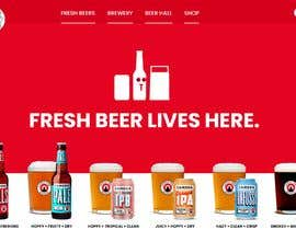 #26 for Website for a brewery by mdhafizballal