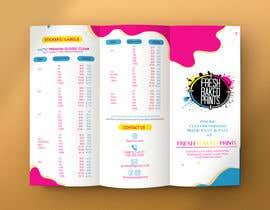#54 for Custom Trifold Brochure 8.5x11 by MaheenBM