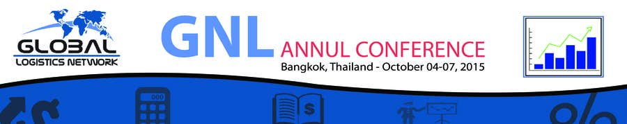 Bài tham dự cuộc thi #19 cho Design a Banner for 2015 Conference for Global Logistics Network