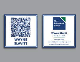 #123 for Improve the look of my business card by rockonmamun