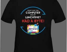 Nro 19 kilpailuun Tech company Tee-shirt design käyttäjältä azamansari8081