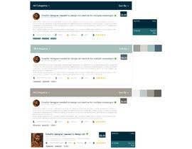#65 untuk Redesign our project listing pages oleh tauqeeransari